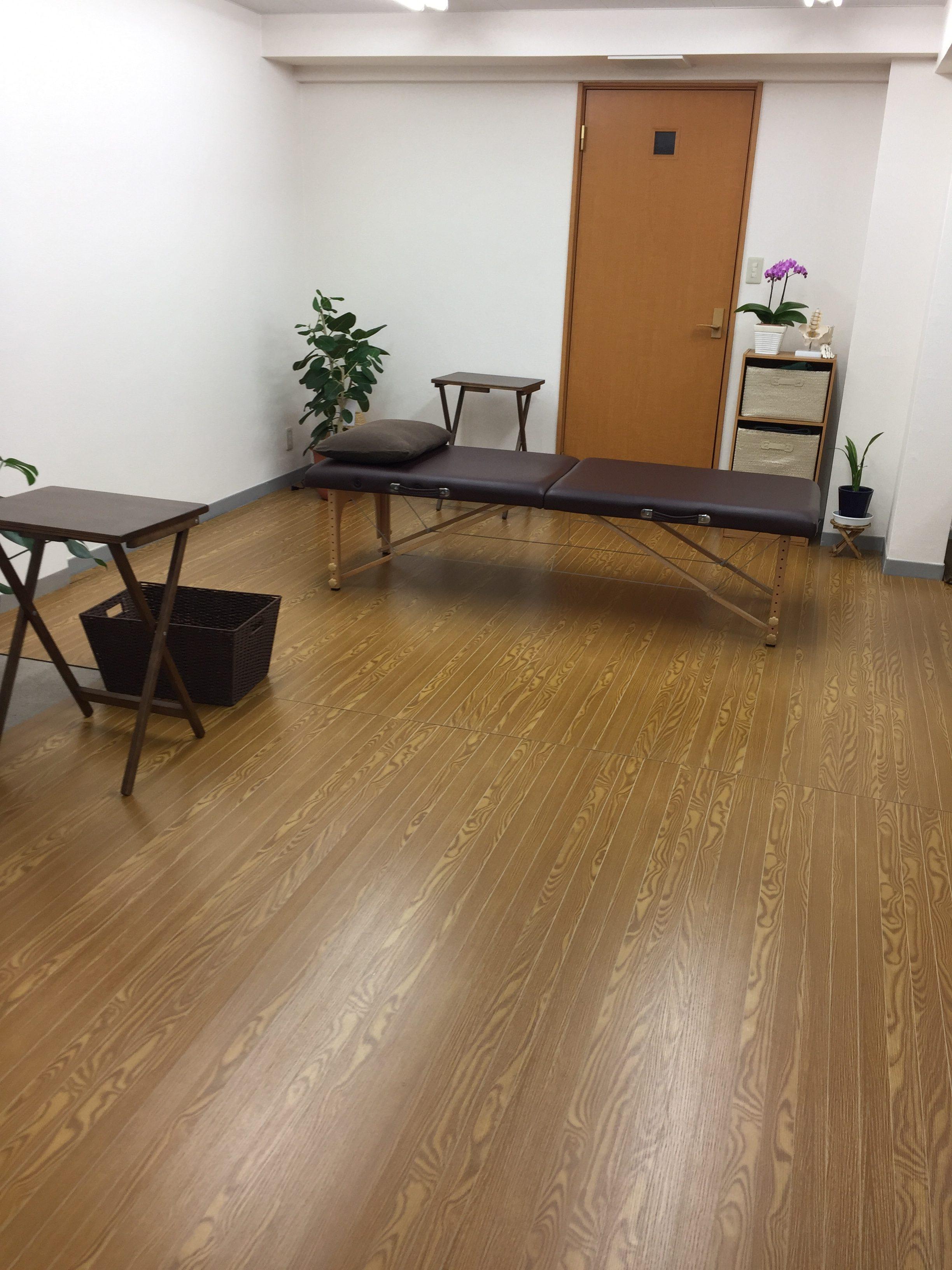 仙台の整体で筋膜に施術を行うルーツの内観3つめ