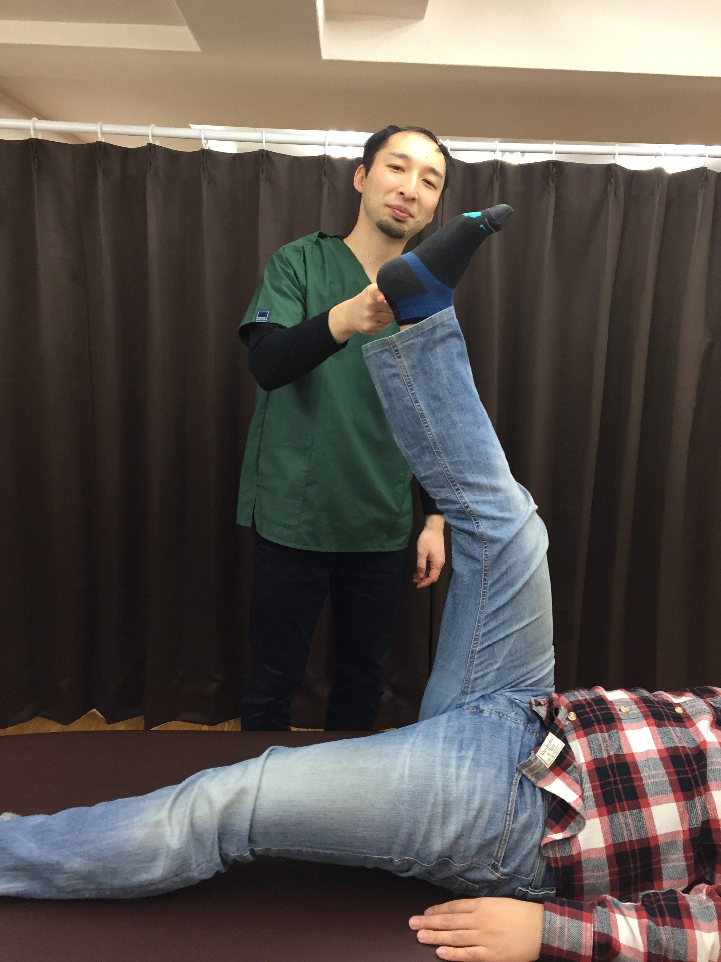 仙台の整体で肉離れに筋膜を施術したあとの結果